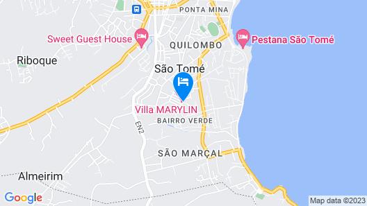 Vila Marilyn Map
