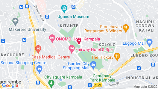 Metropole Hotel Kampala Map