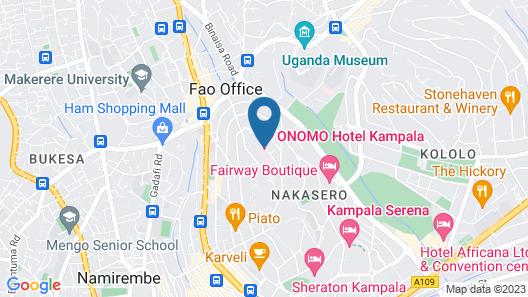 ONOMO Hotel Kampala Map