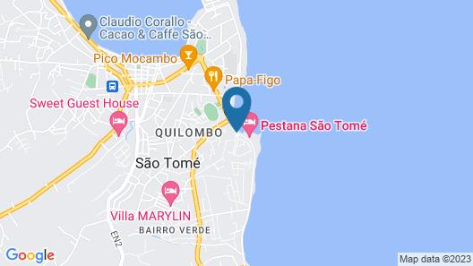 Pestana São Tomé Map