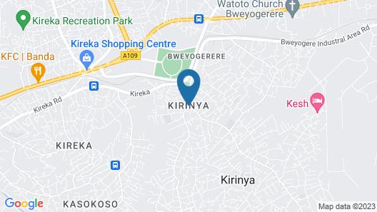 Kesh Motel Map
