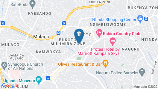 Bukoto Heights Apartments Map