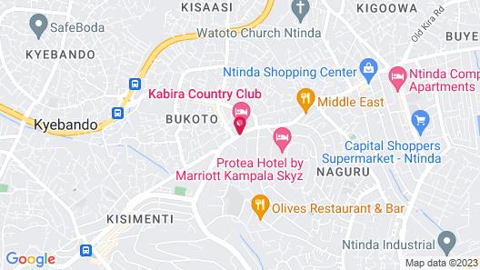 Kabira Country Club Map