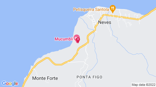 Mucumbli Hotel Map