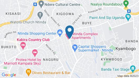 Ntinda Complex Apartments Map