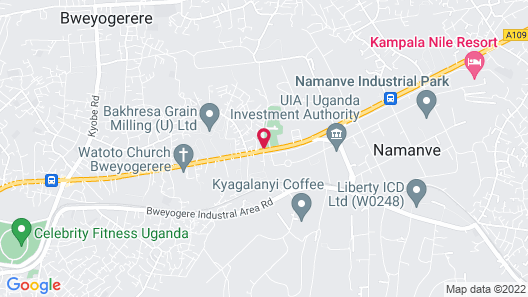 Moonlight Hotel-Namanve Map
