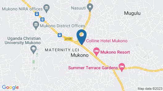 Colline Hotel Map