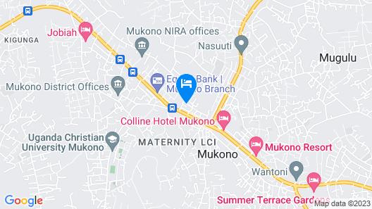 Deira Hotel Ltd Map
