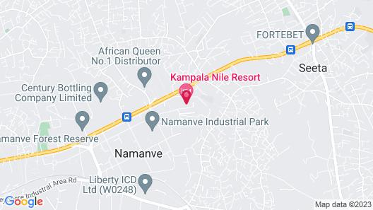 Kampala Nile Resort Map