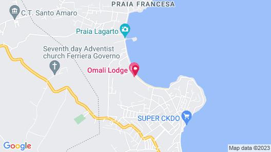 Omali São Tomé Map