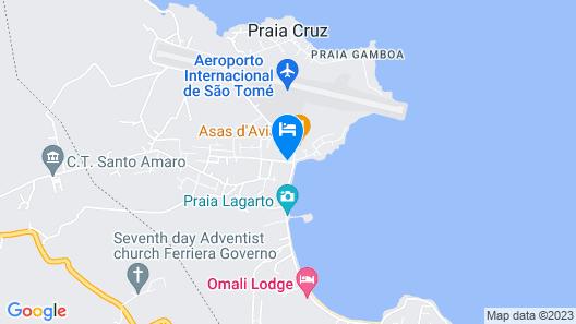 Hotel Vitória Map