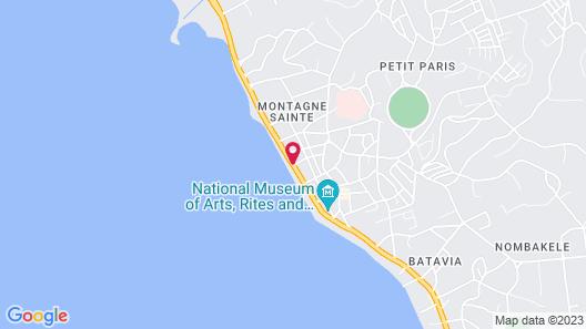Hôtel le Cristal Map