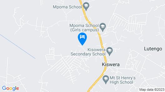 Forest Lodge Mukono Map
