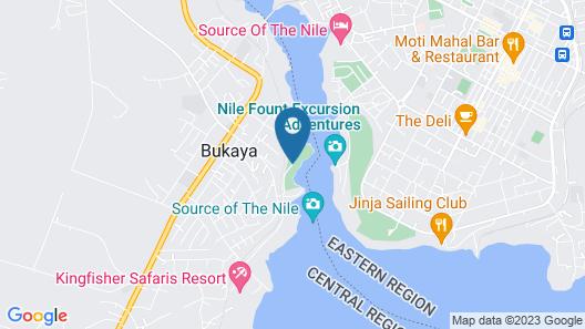 Living Waters Resort Map