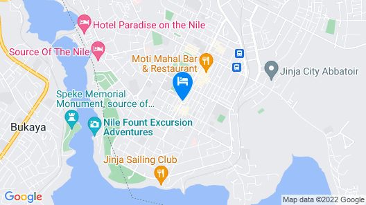 Igar Plaza Hotel Map