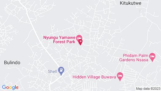 Nyungu Yamawe Forest Park Map