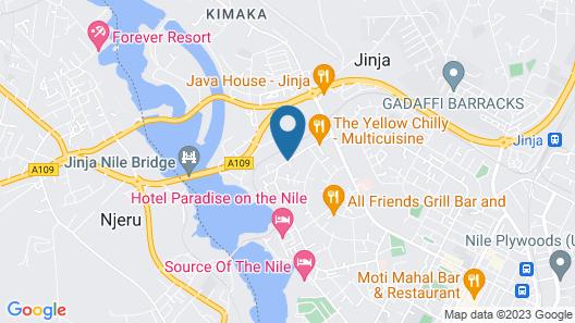 Nile Village Hotel Map