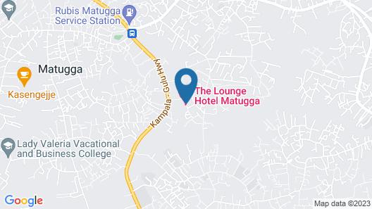 Lounge Hotel Matugga Map