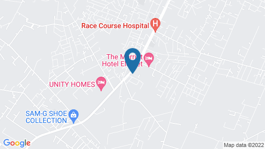 Eldoret Kings Square Apartments Map