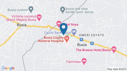 Hotel Rowcena Map