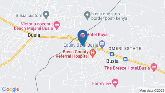 Dasar Comfort Hotel Map