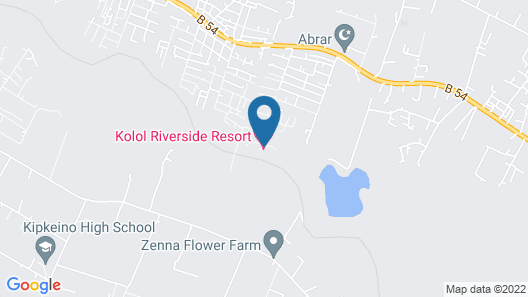 Kolol Riverside Resort Map