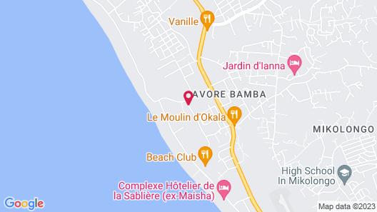 Hotel Onomo Libreville Map