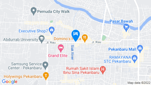 Novotel Pekanbaru Map