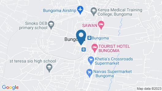 Westgate Hotel Mumias Map