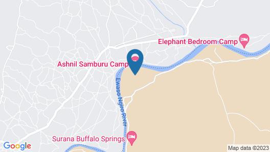Ashnil Samburu Camp Map