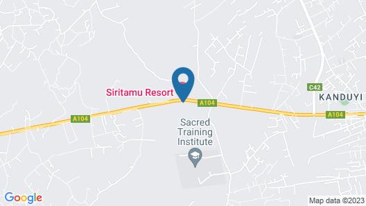 Siritamu Resort Map