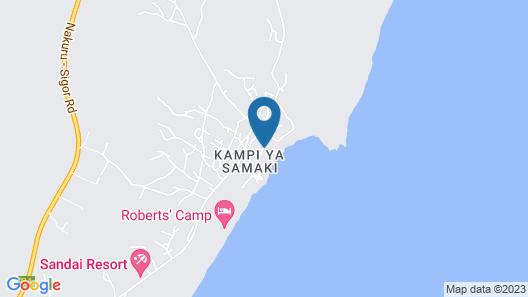 Soi Safari Lodge - Lake Baringo Map
