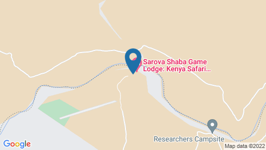 Sarova Shaba Game Lodge Map