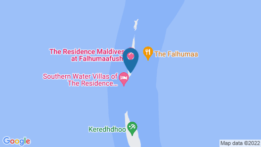 The Residence Maldives Map