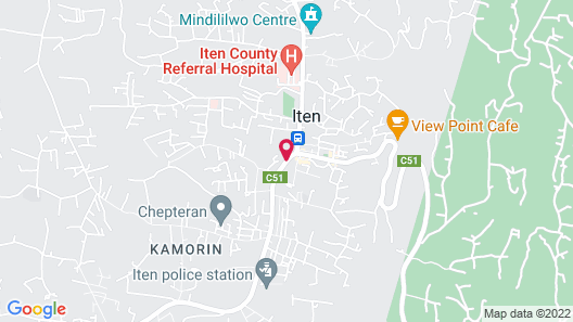 Kerio View Map
