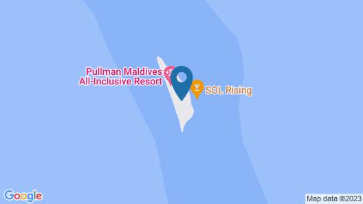Pullman Maldives Resort Map