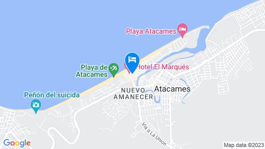 Hotel El Marqués Map