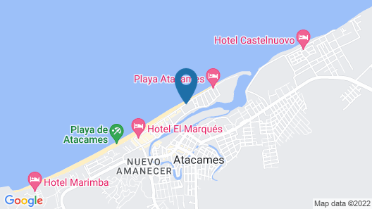 Hotel Costa Paraiso Map
