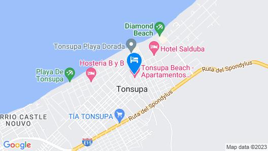 GHL Relax Hotel Makana Resort Map