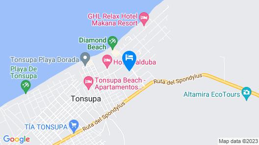 Hotel Oceanic Lodge Map