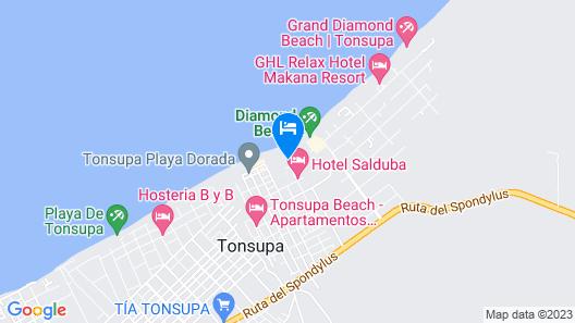 Playa de Tonsupa Map