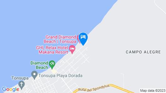 Grand Diamond Beach Map