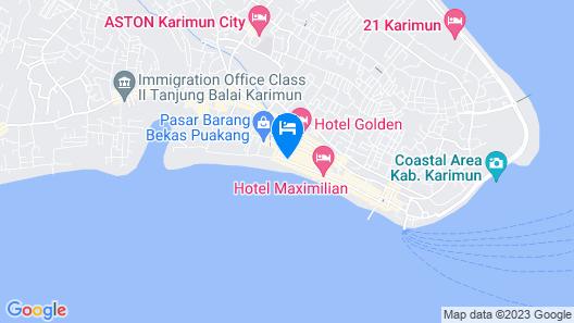 Hotel Super 888 Map