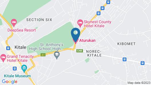 Aturukan Hotel Map