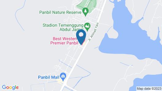 Panbil Residence Apartment Batam Map
