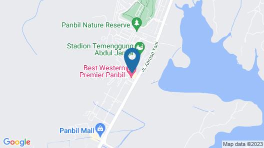 Best Western Premier Panbil Map
