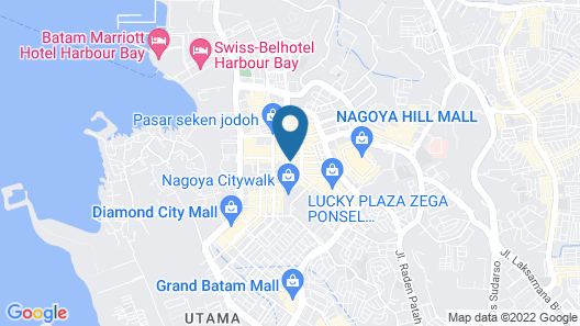 Hana Hotel Map
