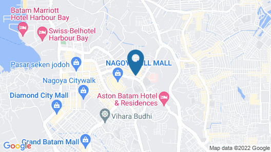 The K Hotel Map