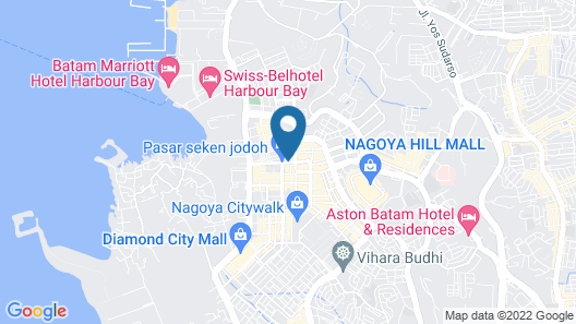 Four Points by Sheraton Batam Map