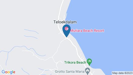 Mutiara Beach Resort Map